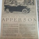1920 Apperson Eight Touring Twenty Six Years of Priority car ad