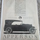 1920 Apperson Touring car ad #2