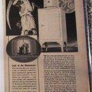 1935 GE Electric Refrigerator ad