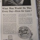 1941 GE Electric Sink ad
