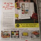 1949 GE Space Maker Refrigerator ad #2