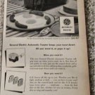 1949 GE Toaster The Toaster That Never Talks Back ad