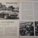 1967 AC 428 Convertible car article