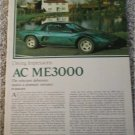 1976 AC ME3000 car article