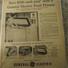 1951 GE Freezer ad