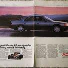 1986 Acura Legend 4 dr sedan car ad #2