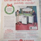 1952 GE Dishwasher Christmas ad
