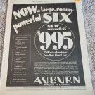 1930 Auburn Six car ad