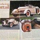 1931 Auburn 8-98 Boattail Speedster car article
