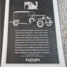 1931 Auburn Straight Eight 4 dr sedan car ad