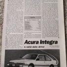 1987 Acura Integra car article