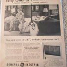 1955 GE Room Air Conditioner ad