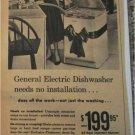 1956 GE Electric Dishwasher Christmas ad
