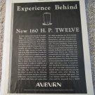 1932 Auburn Twelve car ad