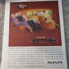 1934 Auburn car ad