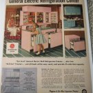 1957 GE Electric Refrigeration Center ad