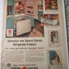 1957 GE Refrigerator-Freezers ad