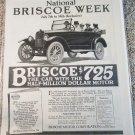 1917 Briscoe Touring car ad