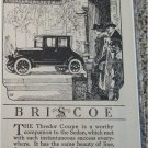 1921 Briscoe Thredor Coupe car ad