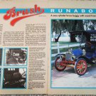 1909 Brush Runabout car article