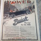 1915 Buick Touring car Power ad