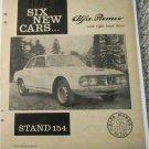 1963 Alfa Romeo car ad