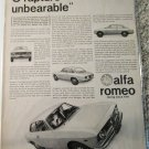 1965 Alfa Romeo Guilia Sprint GT car ad