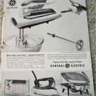 1960 GE Portable Mixer ad