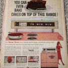 1960 GE Sensi-Temp Electric Range ad #2