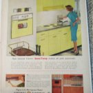 1960 GE Sensi-Temp Electric Range ad #3