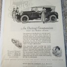 1923 Buick Touring An Outing Companion car ad