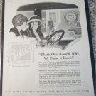 1923 Buick car ad