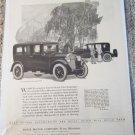 1924 Buick 6 Cylinder 5 Passenger Sedan car ad