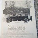 1924 Buick 6 Cylinder 4 Passenger Sport Touring car ad