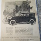 1924 Buick 6 Cylinder 5 Passenger Touring car ad