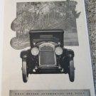 1924 Buick Six car ad