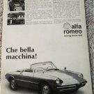 1968 Alfa Romeo Duetto Spider car ad