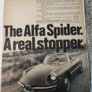 1969 Alfa Romeo 1750 Spider Veloce car ad
