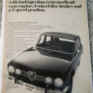 1970 Alfa Romeo 1750 Berlina car ad #1