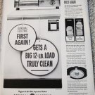 1961 GE Filter-Flo Washer ad #2