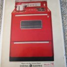 1961 GE electric Range ad