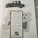 1925 Buick Standard Coupe car ad