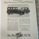 1925 Buick Sedans car ad