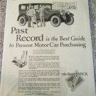 1926 Buick 4 dr sedan Past Record car ad