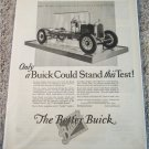 1926 Buick Only A Buick Could Stand This Test car ad