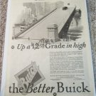1926 Buick Up A 12% Grade car ad