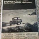 1972 Alfa Romeo 1750 Berlina 4 dr sedan car ad