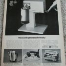 1962 GE Can Opener ad #2