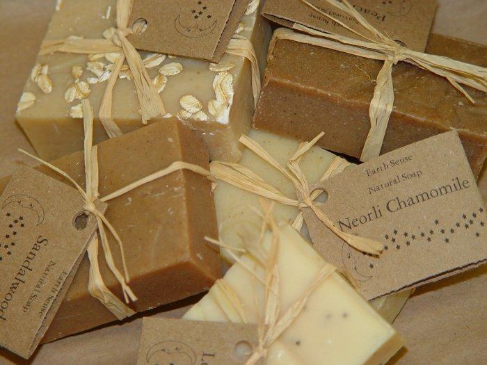 Natural Soap 5 Bars