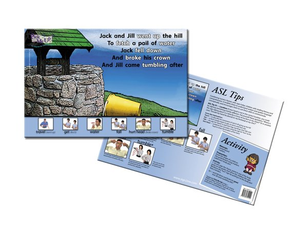 Nursery Rhyme Posters - Jack & Jill